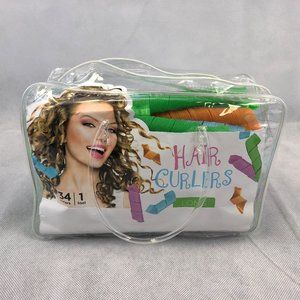 34 Long Hair Curlers with Tool Accessories Curly